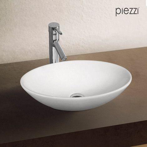 Vasque Ovale En Ceramique Blanche Huvea Va Ce 59a Vasque Vasque A Poser Et Ceramiques Blanches