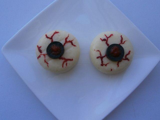 ojos de queso (halloween)