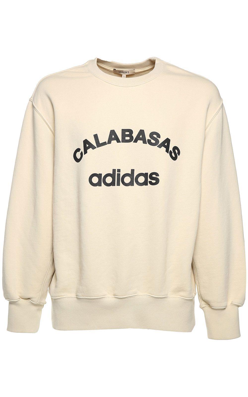 Yeezy Calabasas Cotton Jersey Sweatshirt Season 5 In Jupiter Modesens [ 1600 x 1000 Pixel ]