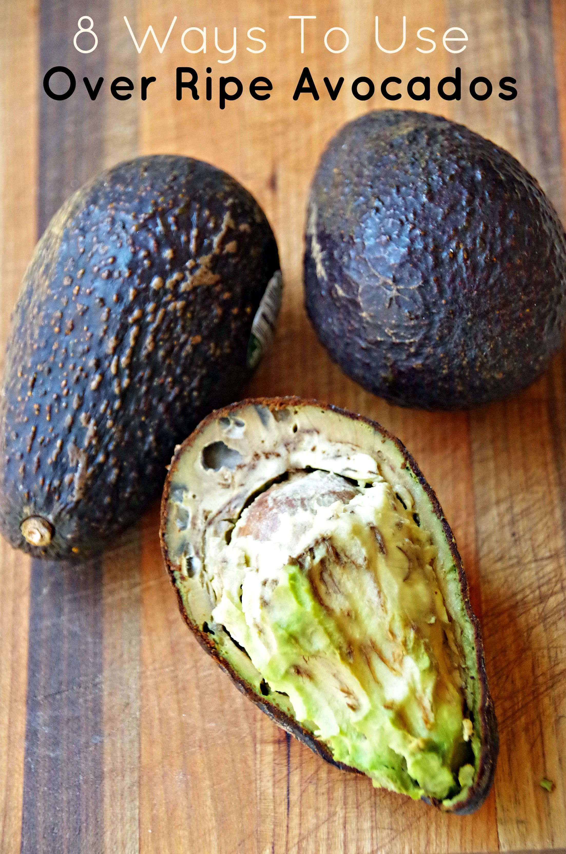 Wondering What To Do With Over Ripe Avocados Here Are A Few Creative Ways To Use Over Ripe Avocados Rathe Avocado Recipes Ripe Avocado Recipes Avocado Dessert