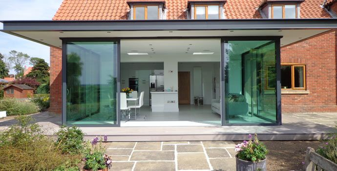 30 best Projects - Sunflex UK\u0027s SVG Plus sliding doors images on Pinterest | Sliding doors Aluminium doors and Aluminum gates & 30 best Projects - Sunflex UK\u0027s SVG Plus sliding doors images on ...