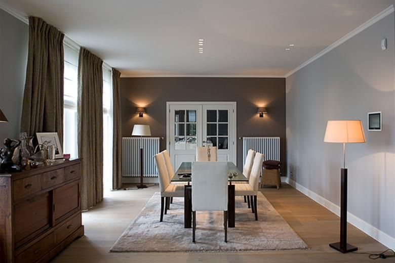 Beautiful Salle A Manger Moderne Et Ancien Ideas - Amazing House ...