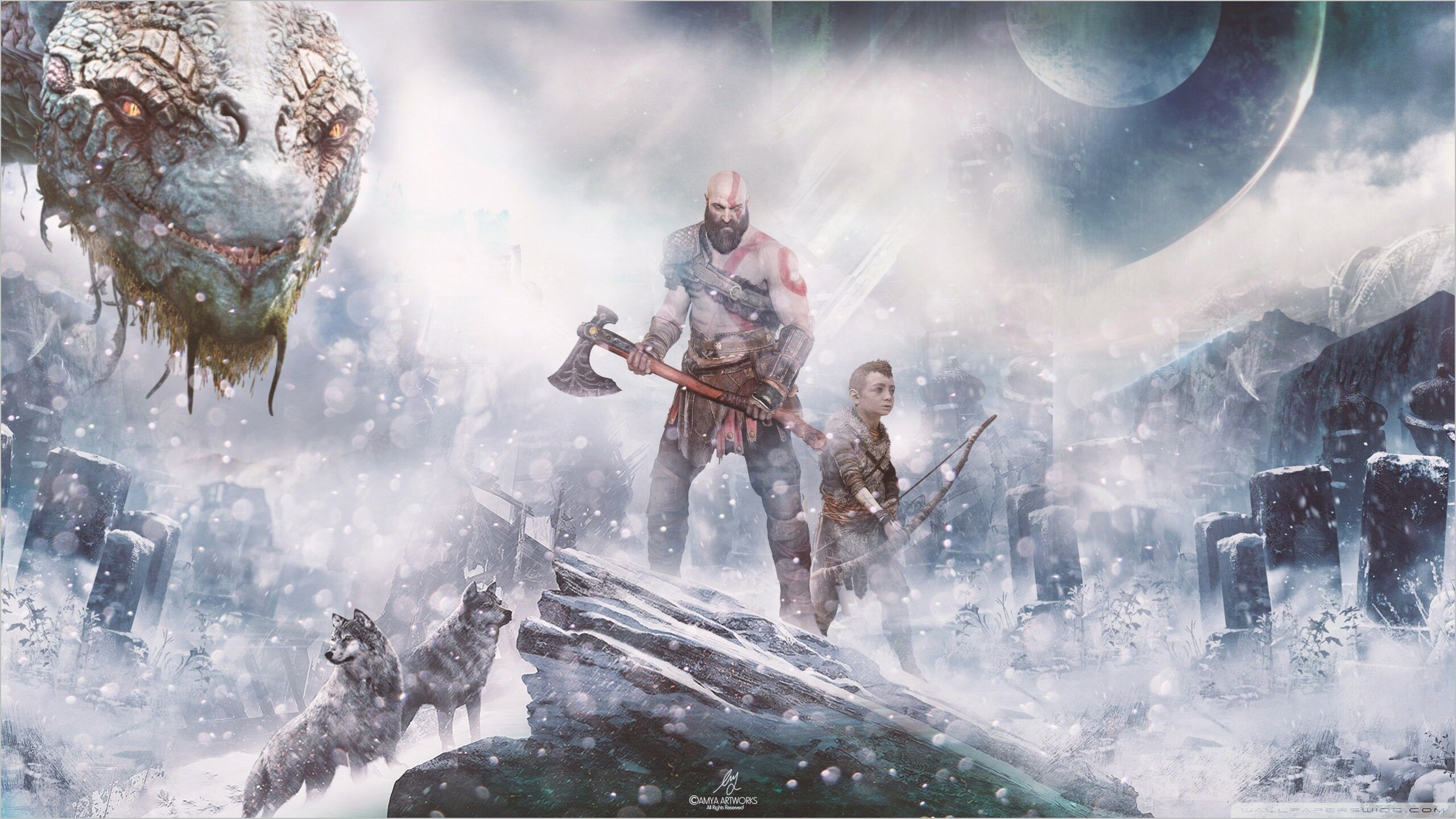 Best Ps4 Wallpapers 4k In 2020 God Of War New Gods War