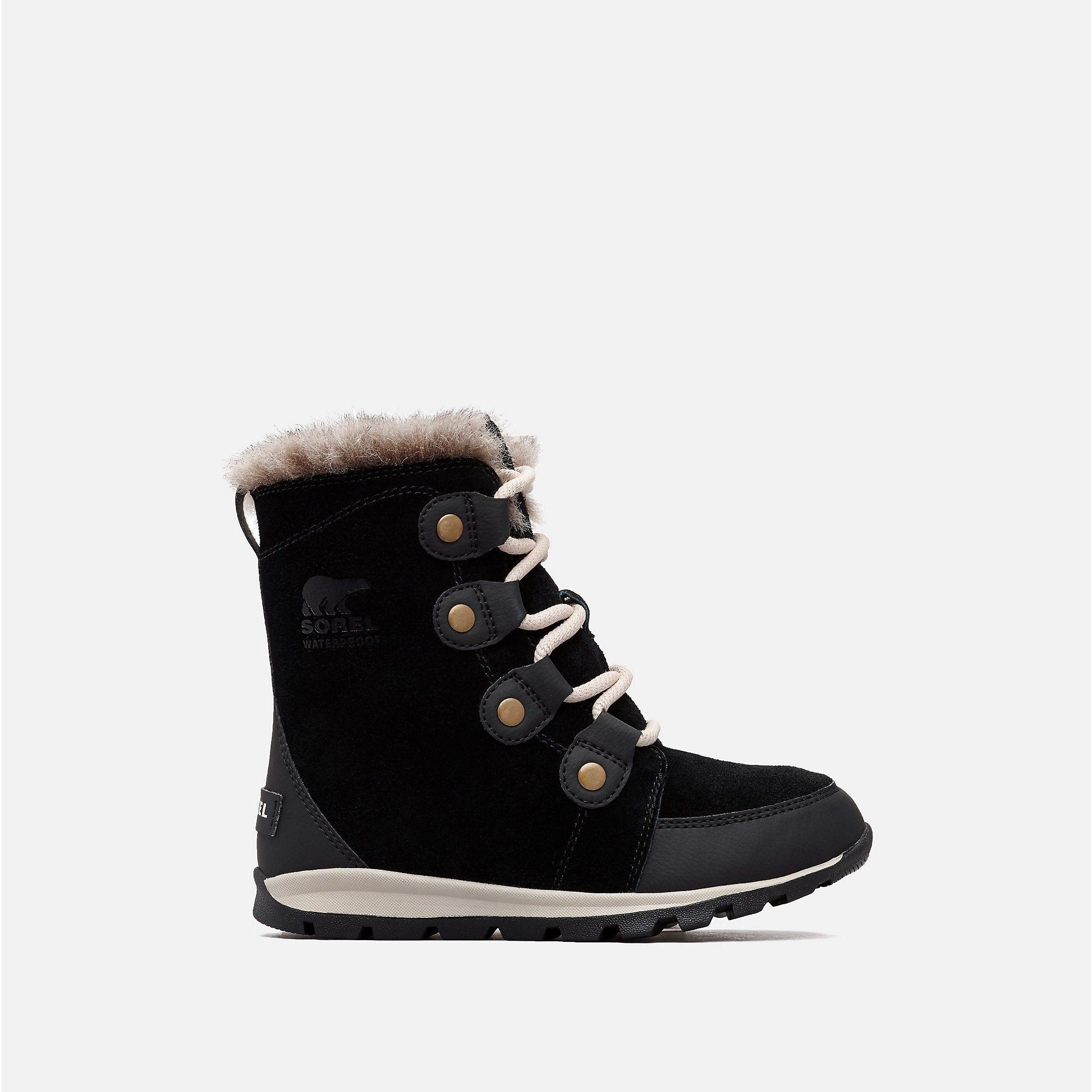 SOREL Girl/'s Childrens Whitney Suede Mid Calf Boot