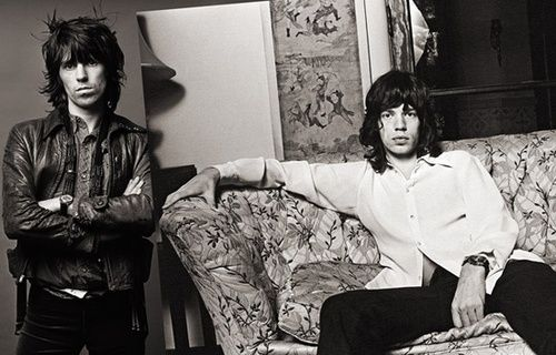 Mick Jagger and Keith Richards, 'Exile on Main St'...