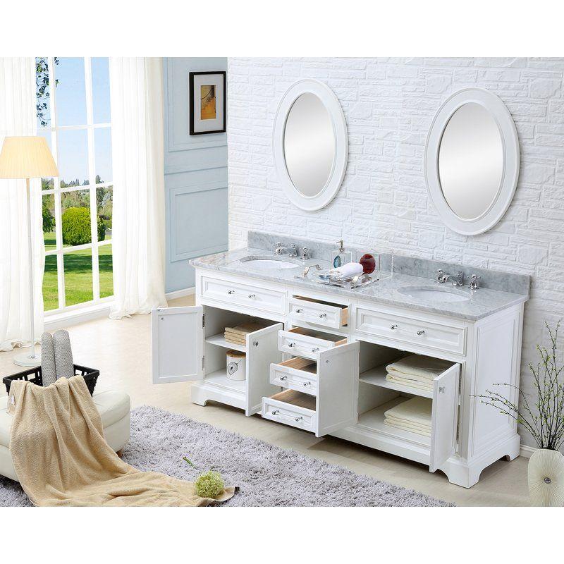 Bergin 60 Double Bathroom Vanity Set Double Sink Bathroom