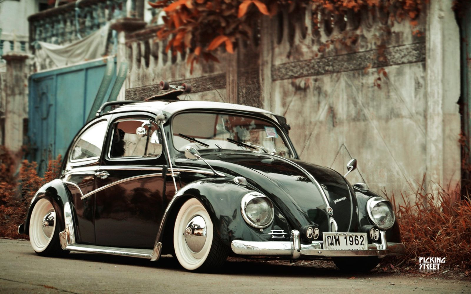 Lowrider Volkswagon Beetle Socal Wheel Gq Wallpaper Coches
