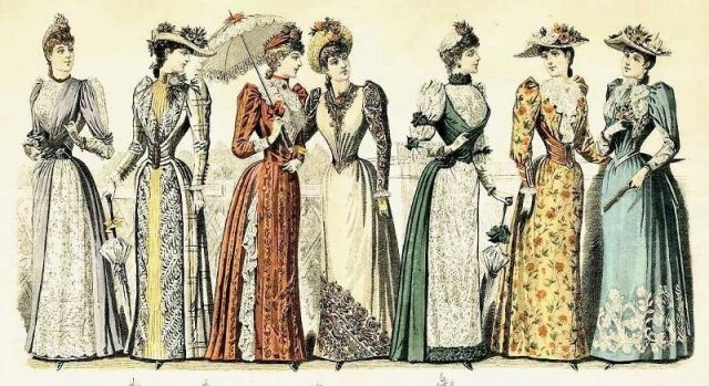 Womens fashion in the 1800s 49
