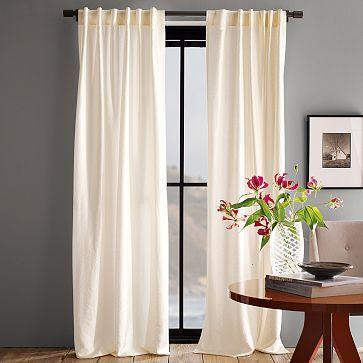 Master Bedroom Dark Paint Light Curtains Luxe Window Panel