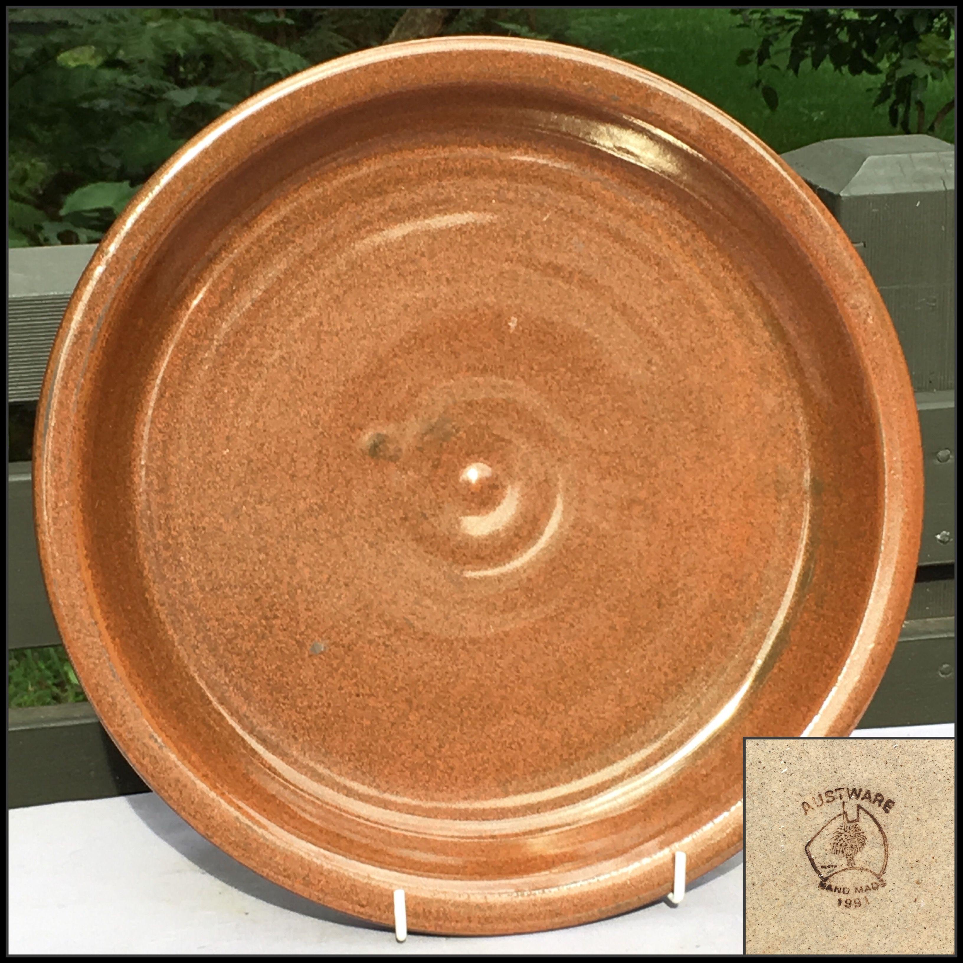 Austware pottery western australia platter pottery
