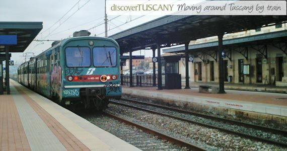 how to get from rome to tuscany by train