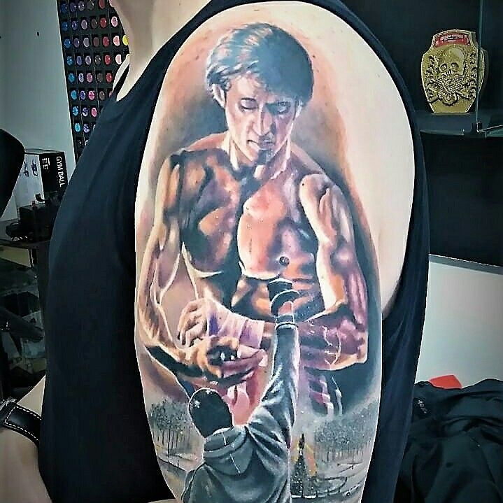 Pin By Kerry Sylvester On Tattoo Ideas: Tattoo Rocky IV And Rocky Balboa