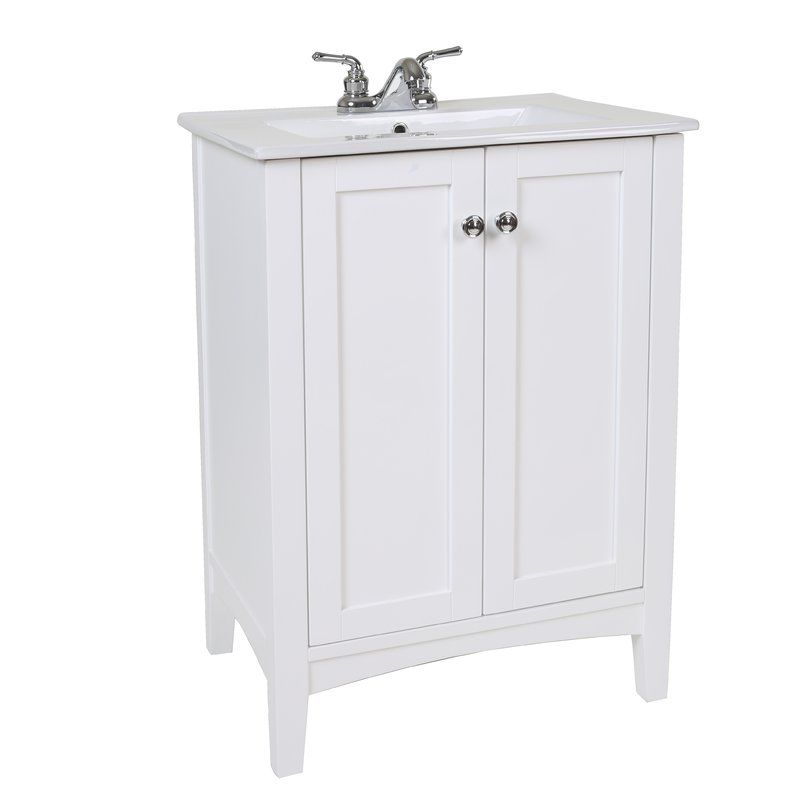Miltonsburg 24 Single Bathroom Vanity Set With Images