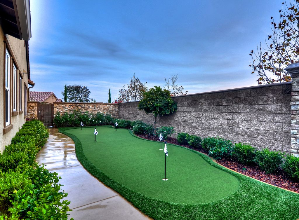 Golf Anyone? Custom 5 hole synthetic putting green (in ...