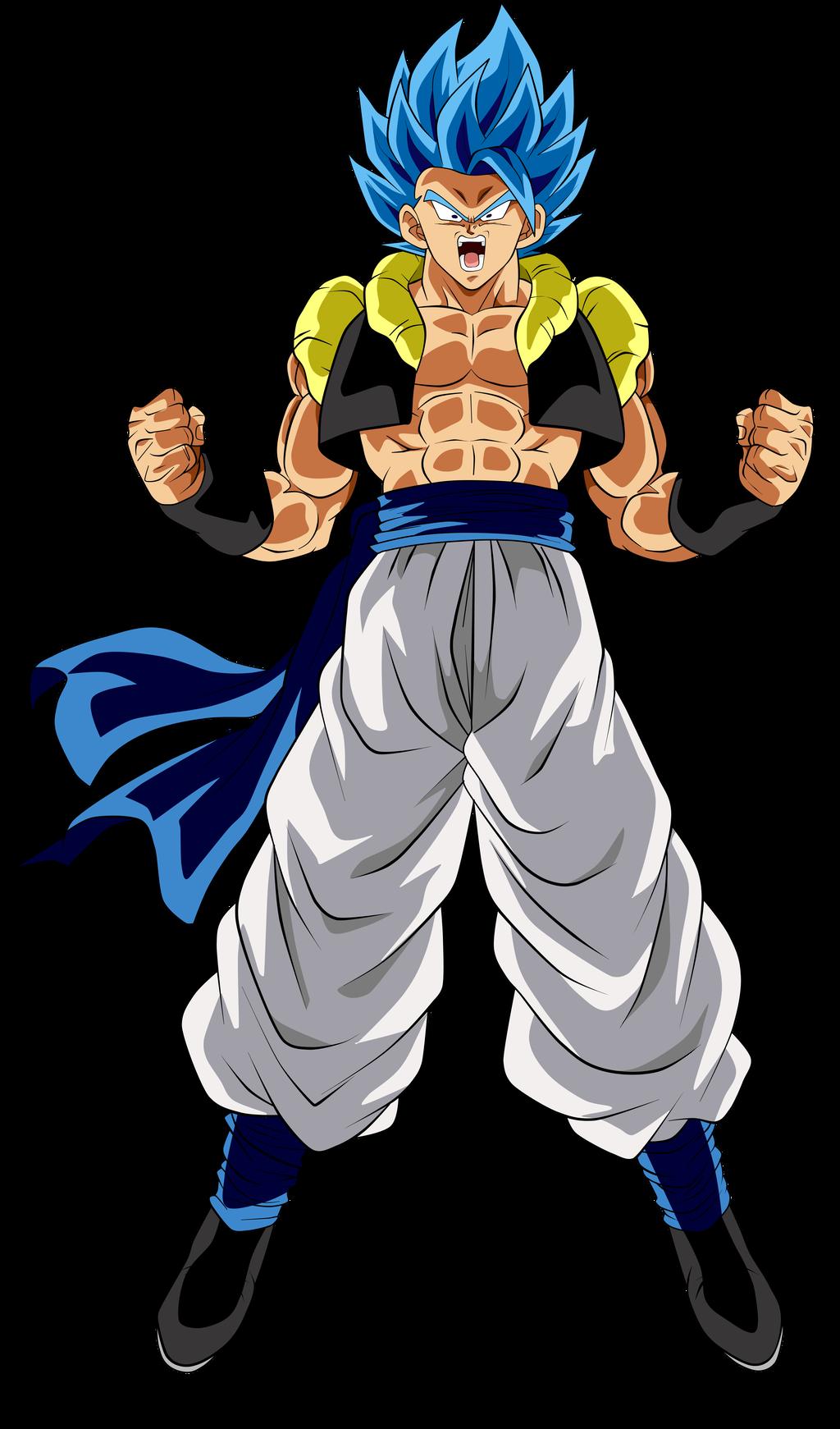 Gogeta Super Saiyan Blue by ChronoFz on DeviantArt | Dragon ball super  manga, Anime dragon ball super, Dragon ball super