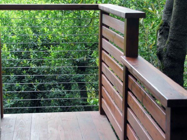 36+ Creative Deck Railing Ideas for Inspire What You Want ...
