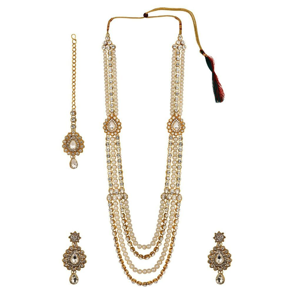 Efulgenz Indian Vintage Retro Ethnic Gypsy Oxidized Tone Multilayered Necklace Jewelry for Girls and Women
