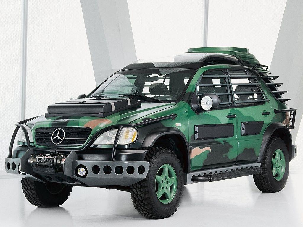 Mercedes benz ml 320 jurassic park