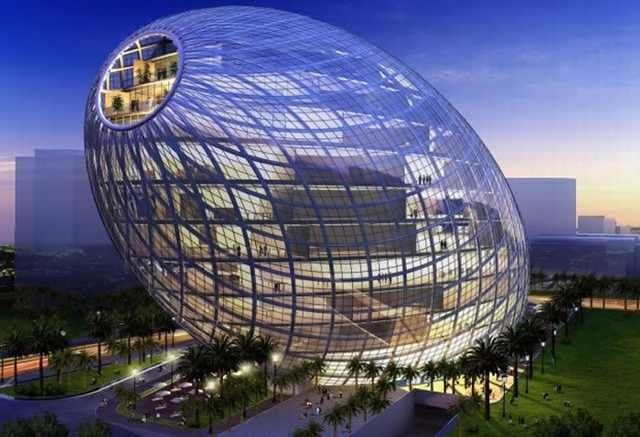 Architecture Buildings In India modern architecture/ cybertecture egg-mumbai, india | *inventions