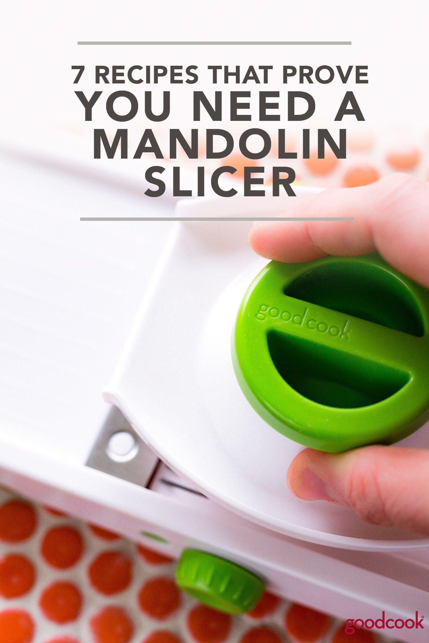7 recipes that prove you need a mandolin slicer mandolin