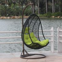 Rotan Ei Stoel.Egg Chair Rattan Hanging Basket Swing Indoor Outdoor Furniture