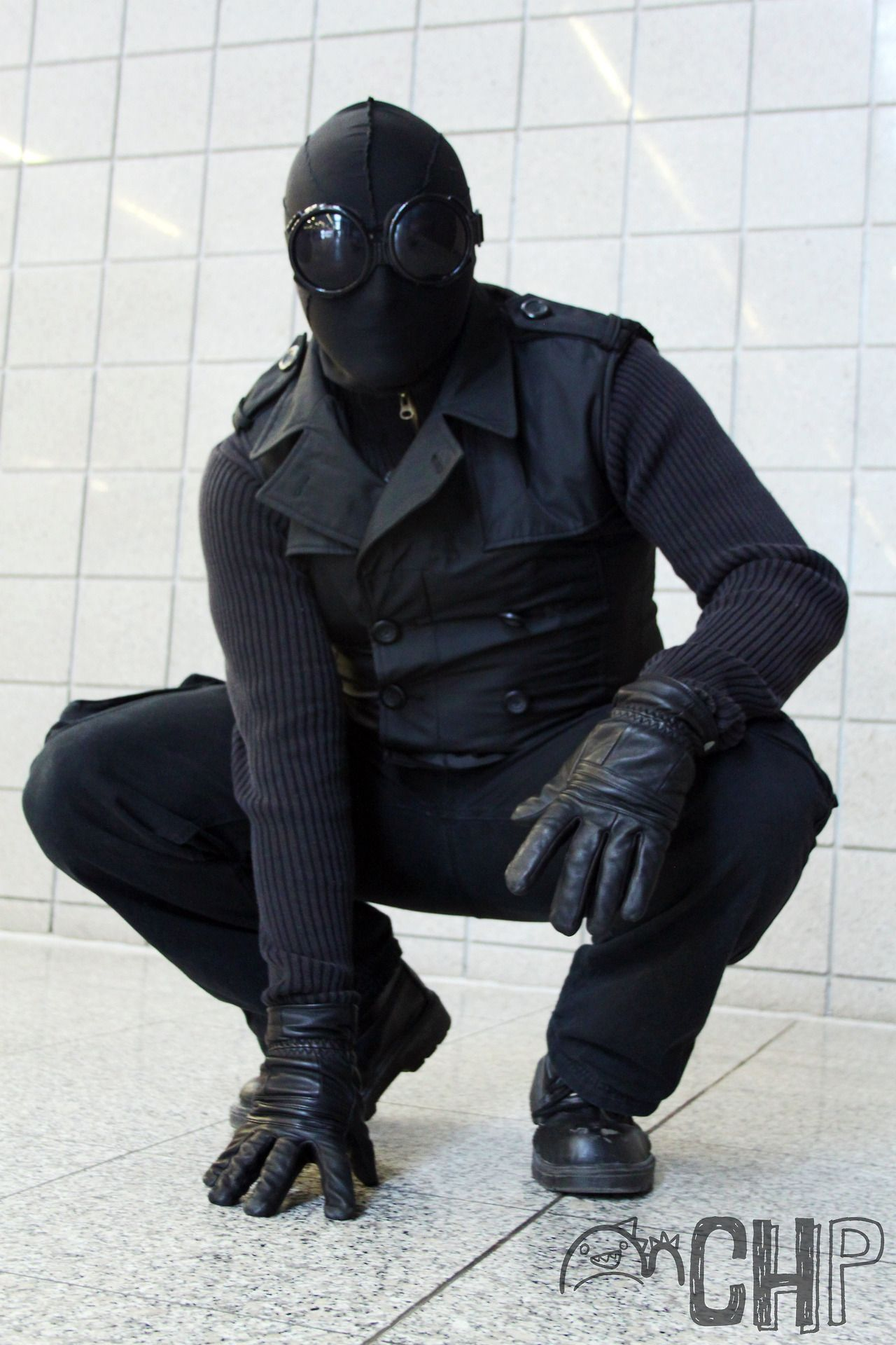 spider-man noir or steampunkish spider-man? | cosplay | spiderman