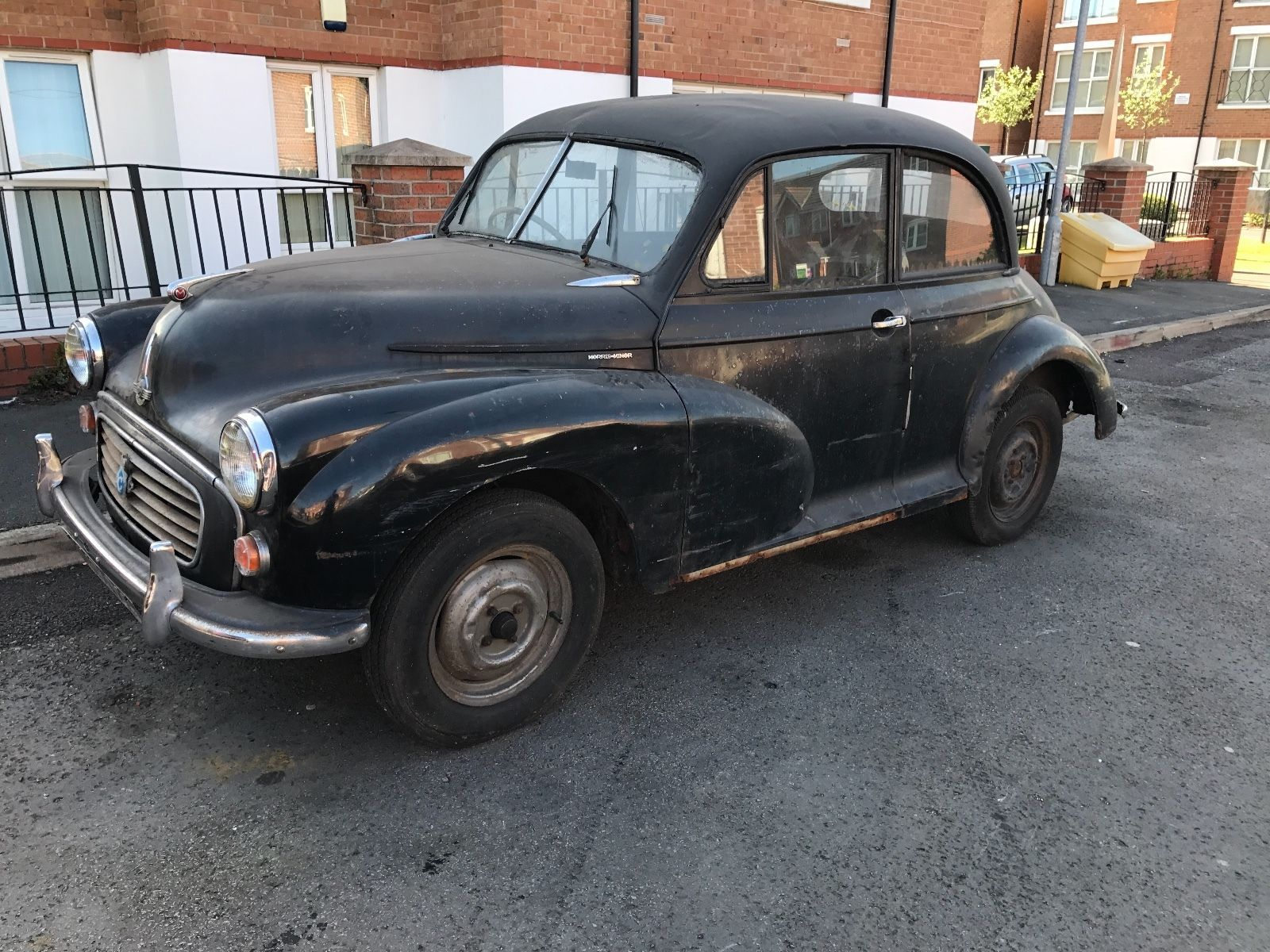 EBay 1955 Morris Minor Split Screen Barn Find Classiccars Cars