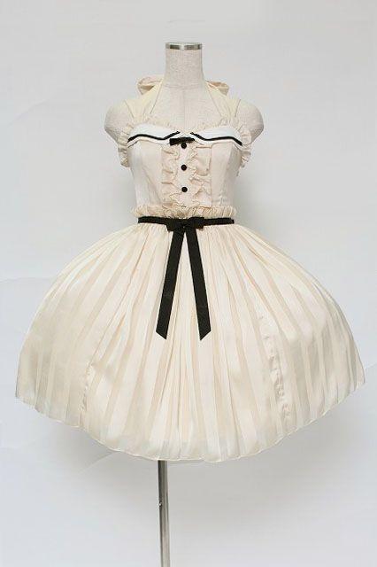Amazing Angelic Pretty / Vintage Doll Jumper Skirt   Closet Child Online Shop