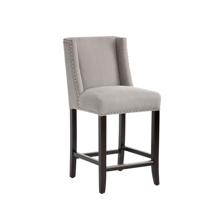 596 Overstock A Traditional Wing Back Counterstool