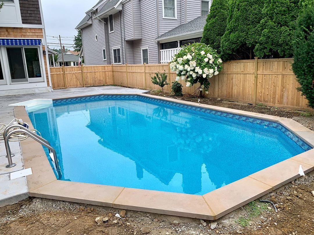 Luxe Gemstone Tile Pool Spa Pool Pool Liners