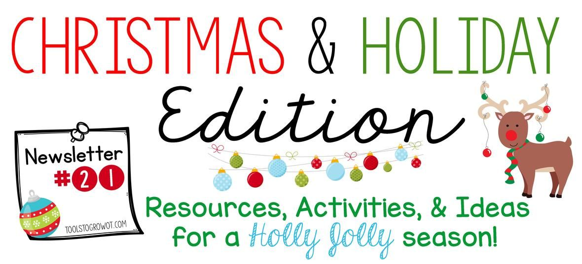ChristmasHoliday Newsletter  Christmas Newsletter Christmas