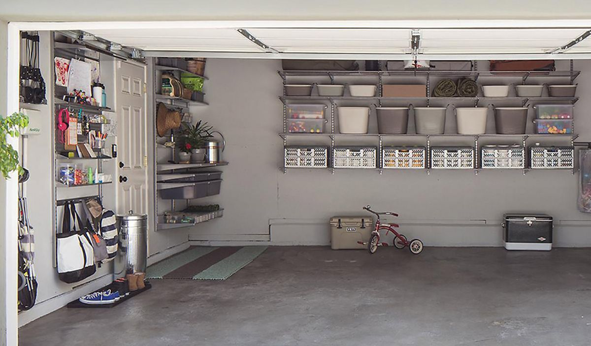 25 Outstanding Garage Shelves Design Ideas To Keep Your Home