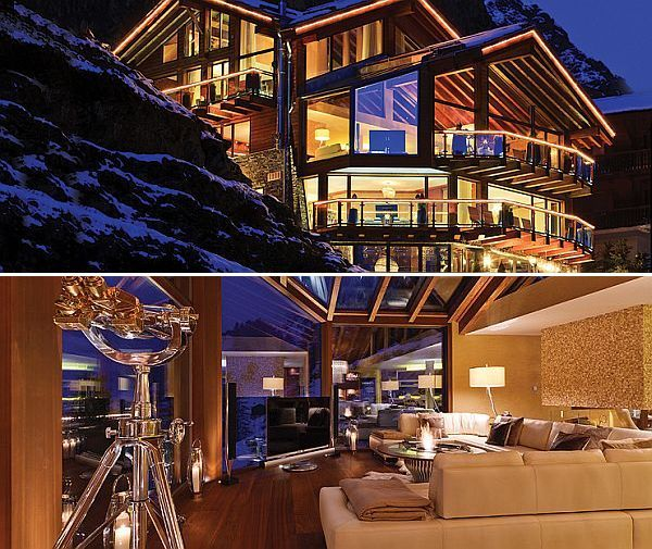 Chalet Zermatt Peak In The Swiss Alps Probably The Most Luxurious Ski Vacation Ever