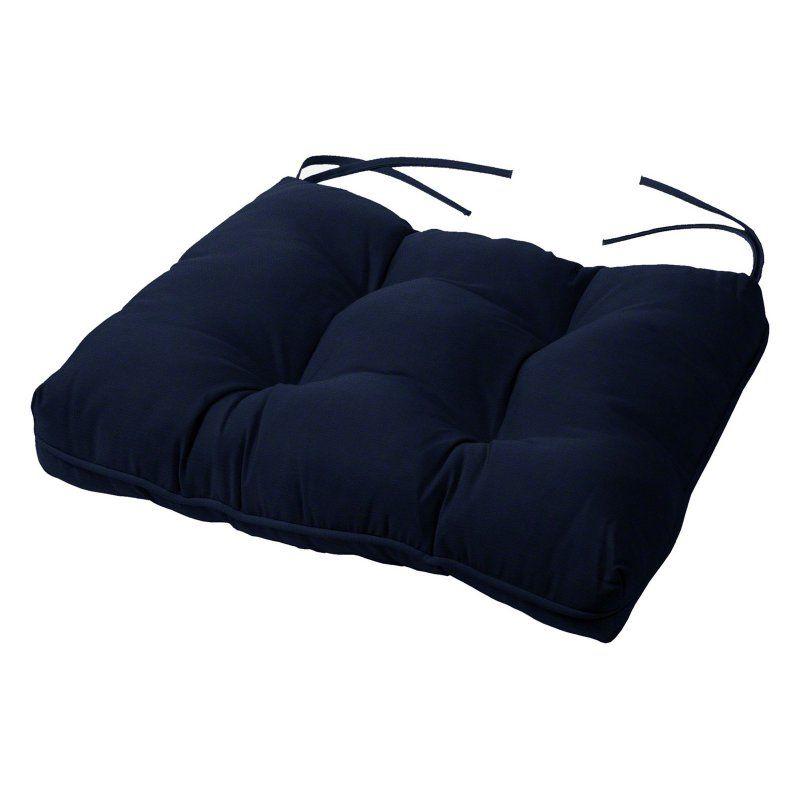 Cushion Source 22.5 x 22 in. Solid Sunbrella Chair Cushion Navy - 5FDFY-5439