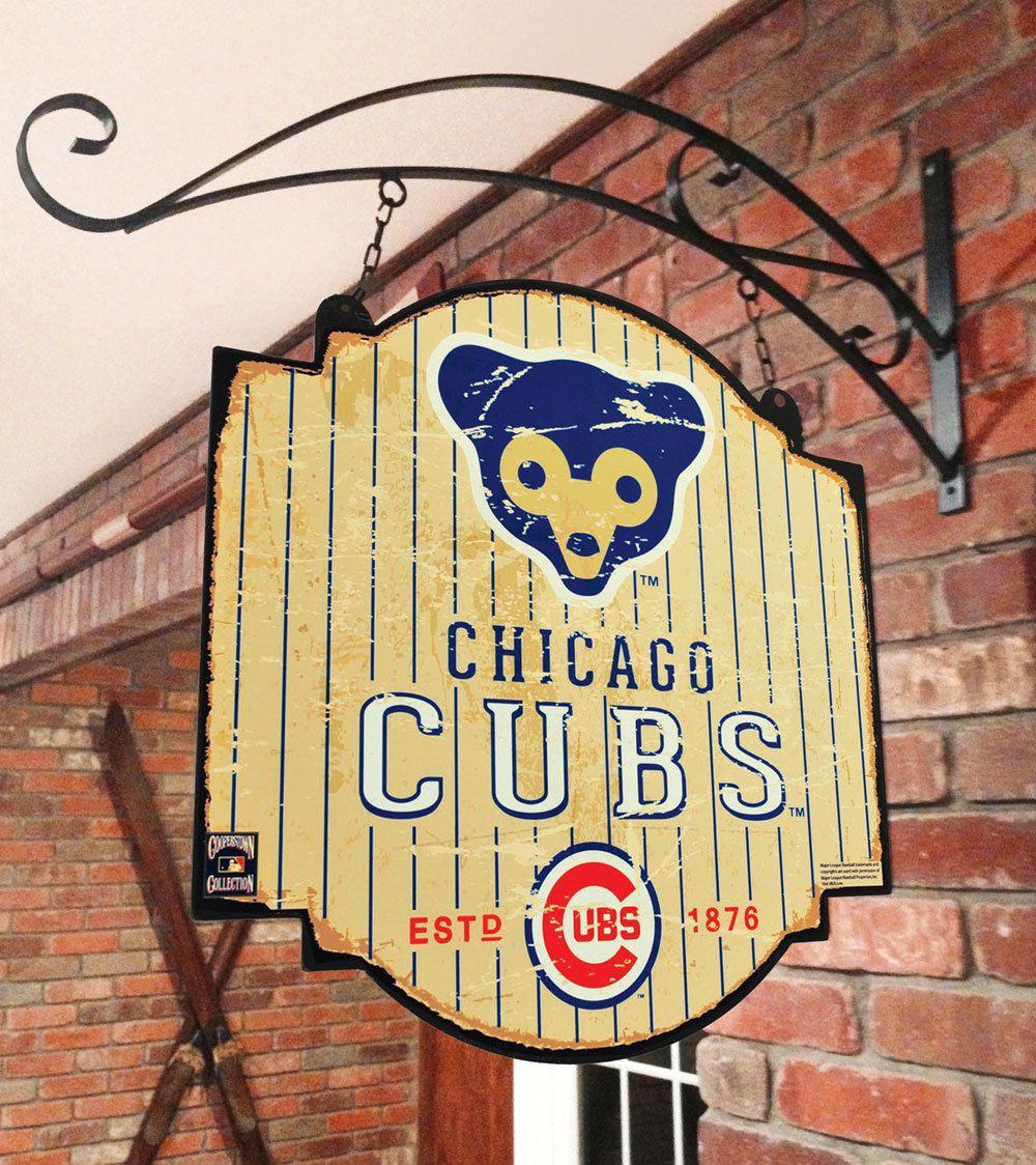 Chicago Cubs Retro 1969 Tavern Pub Bar Metal Sign by Winning Streak ...