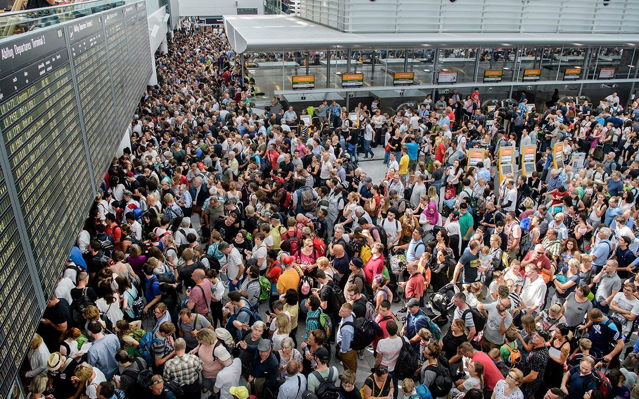 Parts Of Airport Shut Down After Woman Slips Through Security Zone