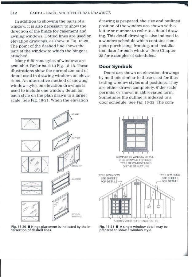 3i2 Part 4 Basic Architectural Drawings In Addition To