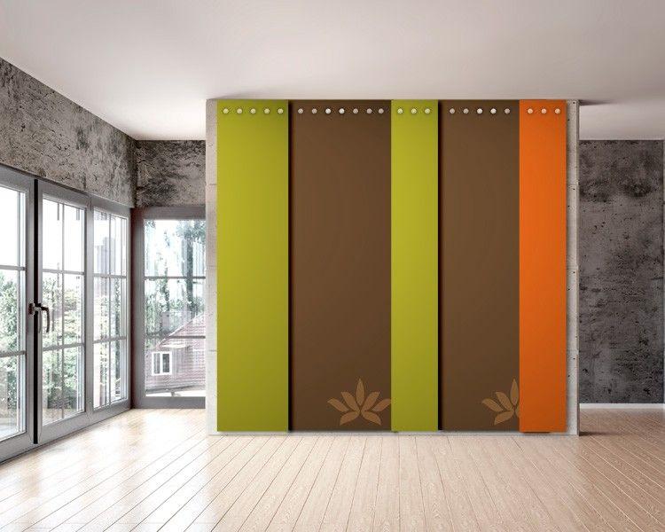 Filz tapete filzpaneele individuelle wandgestaltung der besonderen art schallschutz - Wandgestaltung mit stoff ...