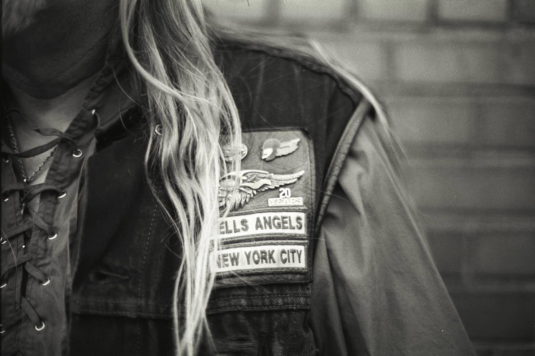 De la vida de los motociclistas... Fotógrafo Michael Schmidt