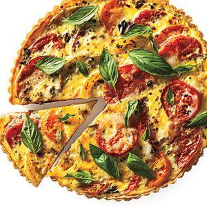 Tomato Tart: Under 250 calories per serving | CookingLight.com