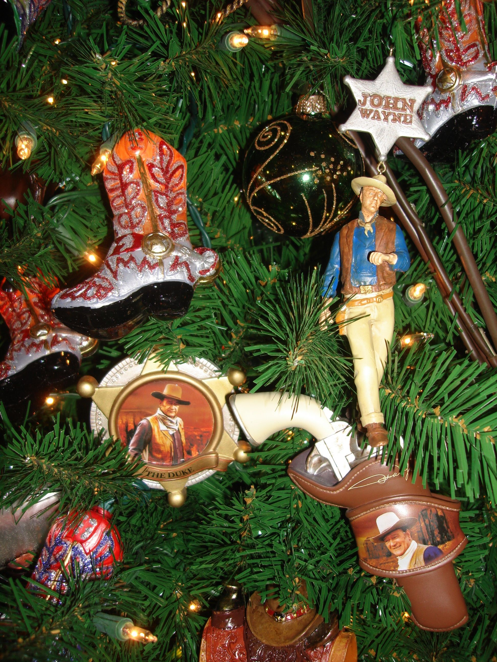 John Wayne Tree- definitely my father in law. | Christmas ...