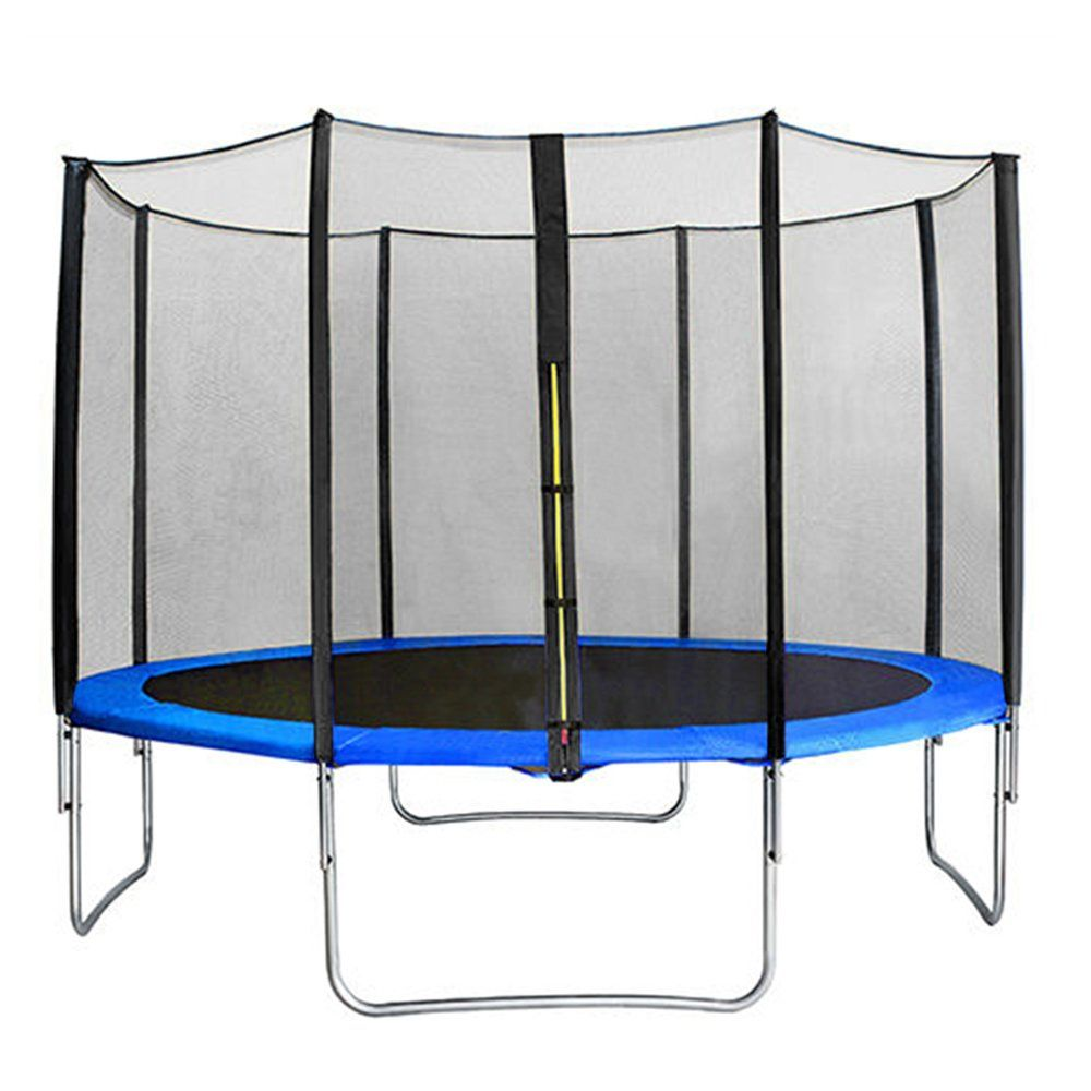 Greenbay 6ft 8ft 10ft 12ft 13ft 14ft Premium Replacement Safety Enclosure Net Netting Net Only Poles Not Included 4 Outdoor Trampoline Mulhouse Trampoline