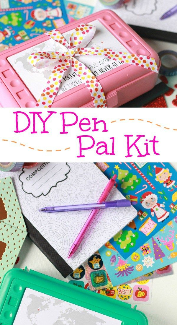 Pen Pal Kit Home Snail Mail Pen Pals Free Pen Gifts