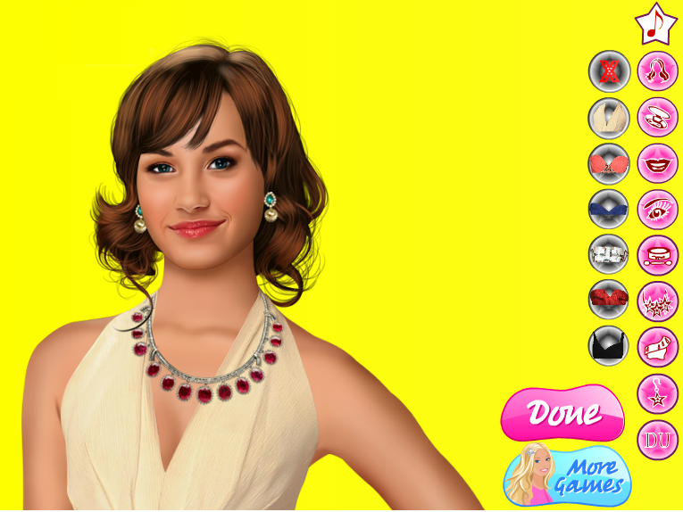 Demi Lovato Real Makeover Games Online Girl Games Games