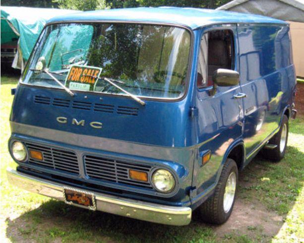 gmc handi van vintage vans van trucks pinterest vans custom vans and chevy. Black Bedroom Furniture Sets. Home Design Ideas