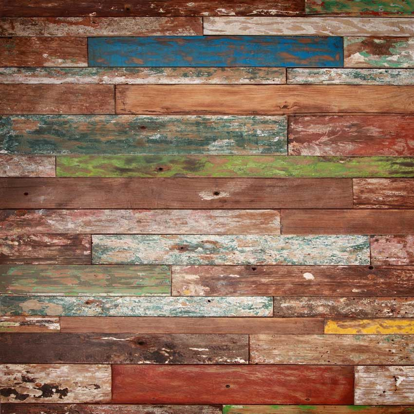 4298 Painted Wood Backdrop
