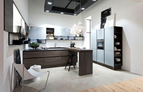 Wundervoll Компания Nolte Kuechen продемонстрировала новые коллекции кухонь на  выставке LivingKitchen 2017.
