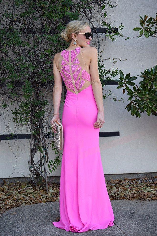 Lauren Vandiver of Vandi Fair glowing in our Caviar Beaded Prom ...