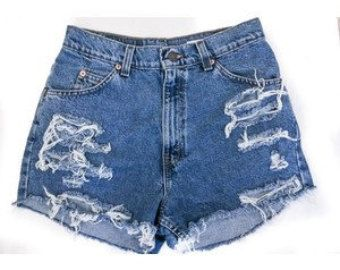 4ebe0395f1 ORIGINAL BLUES High Waisted Shorts levis wrangler gap by modayarte ...