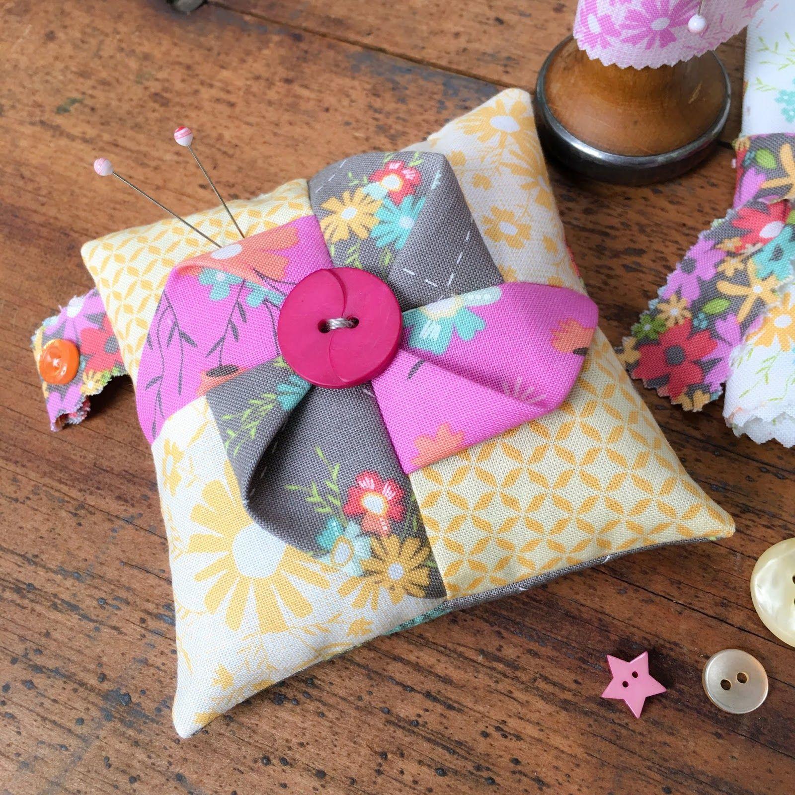 Pin by Vicki Shetter on sewing pincushions | Pin cushions